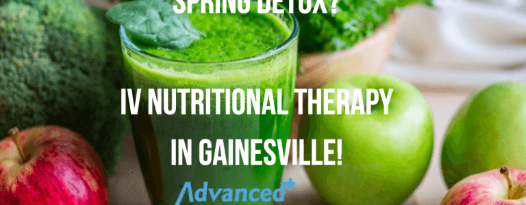 latest update from our clients  IV therapy vitamin in Gainesville advanced pain medical center