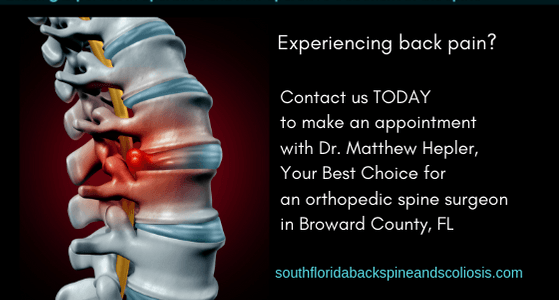 latest update from our clients  Orthopedic Spine Surgeon Dr. Matthew D Hepler