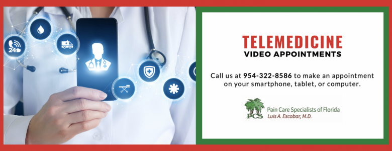 latest update from our clients  Telemedicine for Auto Injuries Pain Care Specialist of Florida